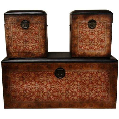 Olde-Worlde European Storage Box (Set of 3)