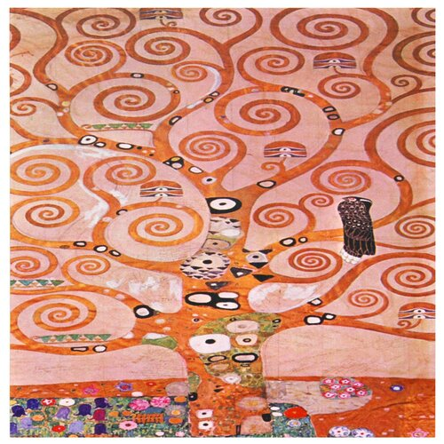 'Tree of Life' by Gustav Klimt Painting Print on Canvas