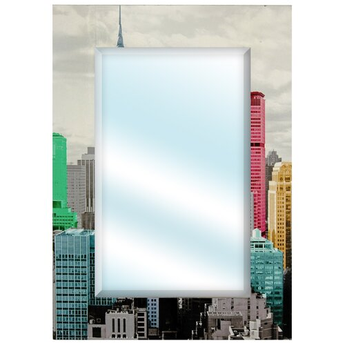 Colorful New York City Wall Mirror