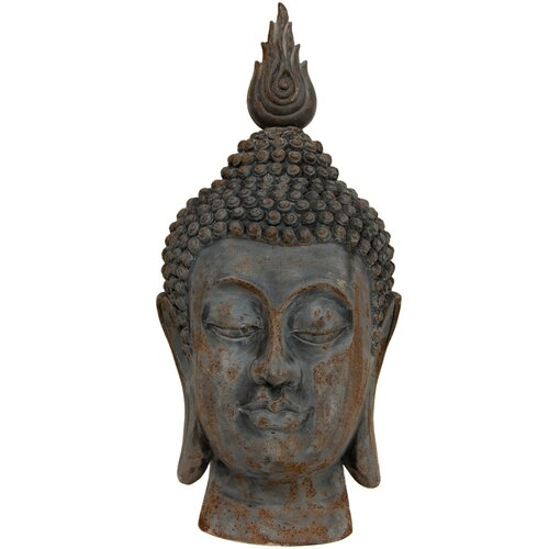 Oriental Furniture Thai Buddha Head Bust