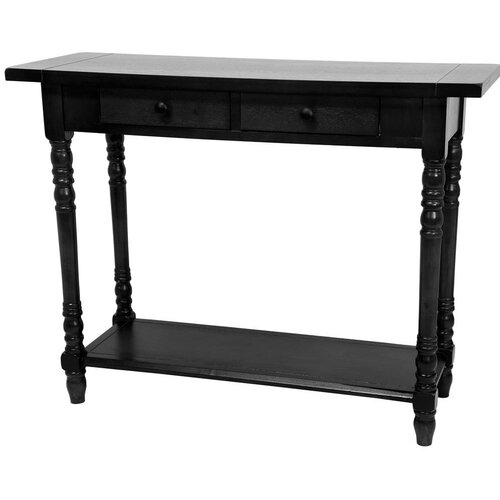 Oriental Furniture Foyer Console Table with 2 Drawers