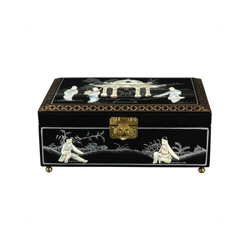 Clementina Asian Jewelry Box