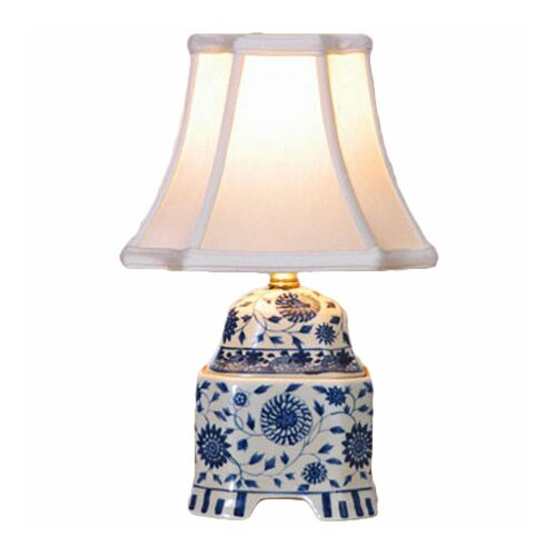 "Oriental Furniture Jar 16"" H Table Lamp"
