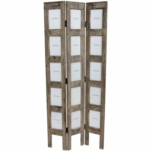 "Oriental Furniture 45"" x 18.75"" Frame 3 Panel Room Divider"