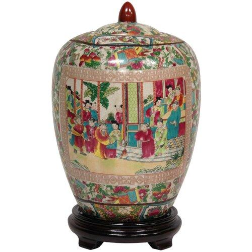 Oriental Furniture Decorative Jar