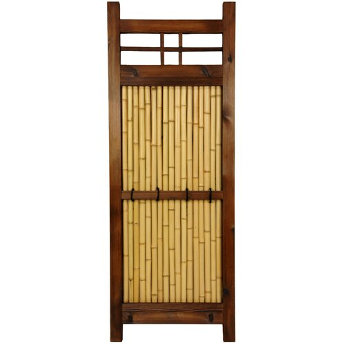 Oriental Furniture Japanese 4' x 1.5' Kumo Fence