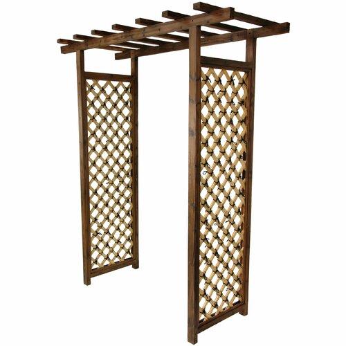Oriental Furniture Japanese Bamboo Garden Gate Trellis