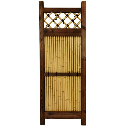 Oriental Furniture Japanese 4' x 2' Zen Garden Fence
