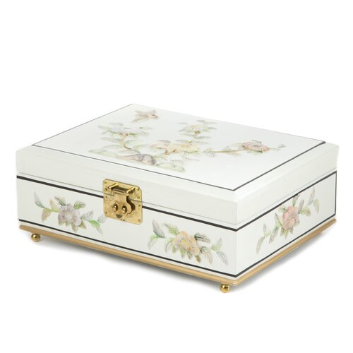 Clementina Asian Jewelry Box