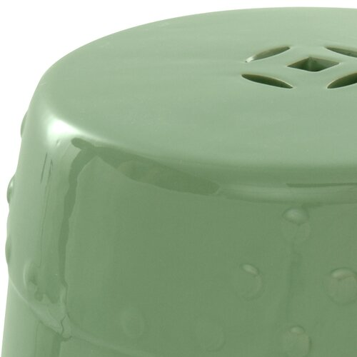 Oriental Furniture Lacquered Porcelain Garden Stool
