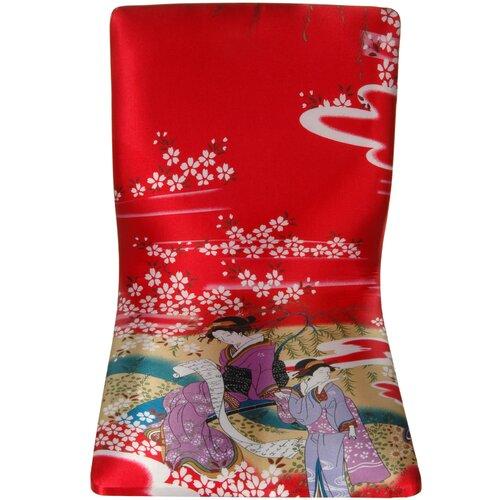 Tatami Geisha Meditation Fabric Lounge Chair