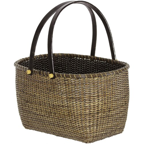 Rattan Open Storage Basket (Set of 2)
