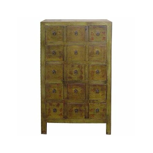 Chinese 15 Drawer Medicine Chest