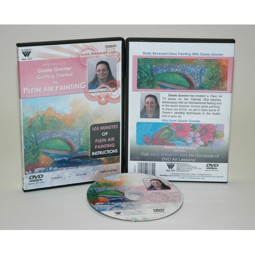 Weber Art GRENIER DVD GETTING STARTED IN PLEIN AIR OIL PAINTING 1.5 HOUR