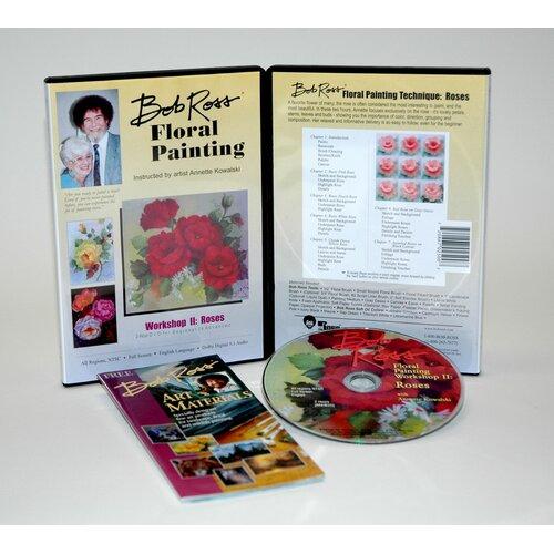 Weber Art ROSS DVD FLORAL PAINTING WORKSHOP II.   2 HOUR