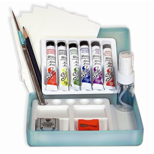 Weber Art SCHEEWE TRAVEL WATERCOLOR SET