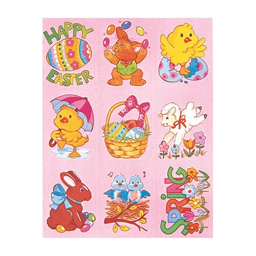 Eureka! Easter Giant Stickers