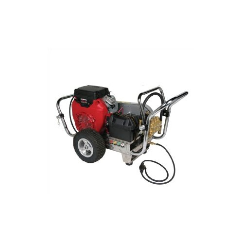 Water Shotgun 5000 PSI Cold Water Electric Start Gas Powered Pressure Washer w/ Honda Engine ...