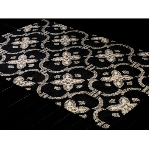 Bashian Rugs Venezia Black Strings Rug