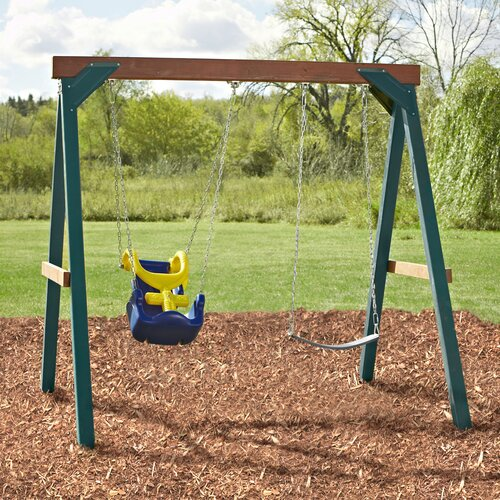 Swing-n-Slide Adaptive Swing Set