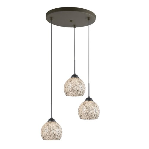 3 Light Mini Pendant Cluster