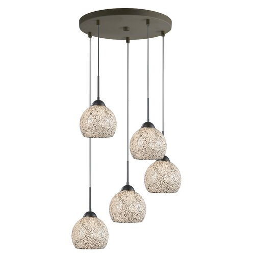5 Light Mini Pendant Cluster