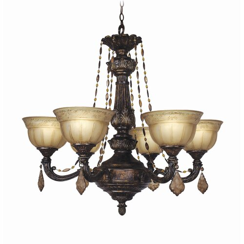 Woodbridge Lighting Lucerne 6 Light Chandelier