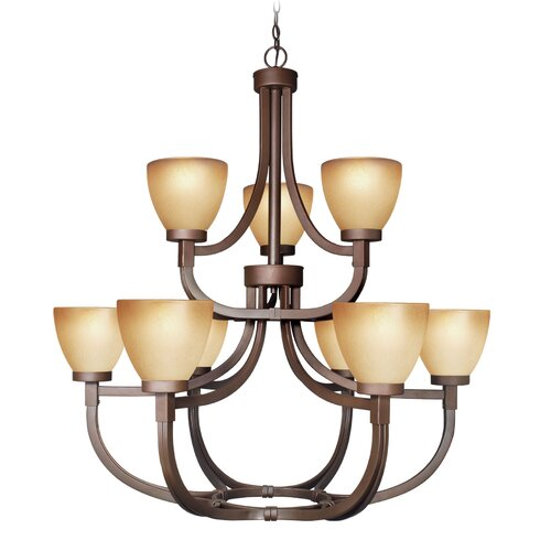 Woodbridge Lighting Wayman 9 Light Chandelier