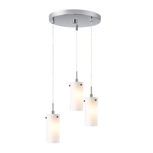 Eclipse 3 Light Mini Pendant Cluster