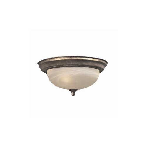 Woodbridge Lighting Dresden 1 Light Flush Mount