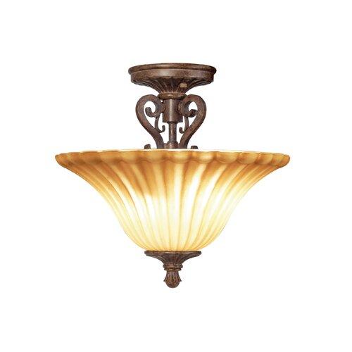 Woodbridge Lighting Avondale 2 Light Semi Flush Mount