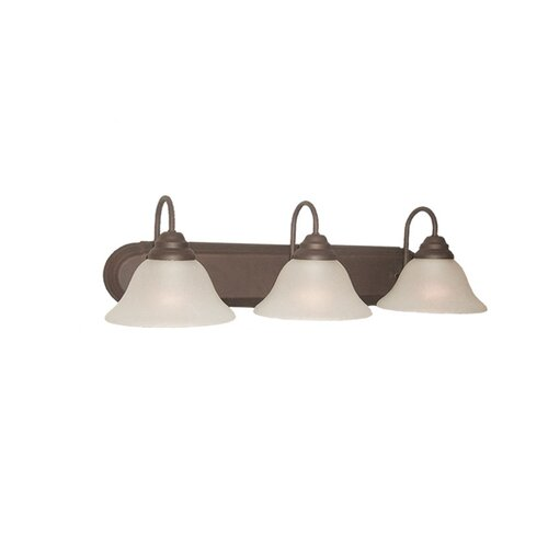 Woodbridge Lighting Basic 3 Light Bath Vanity Light