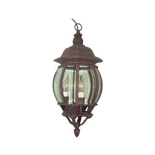 Woodbridge Lighting Basic 3 Light Outdoor Wall Light
