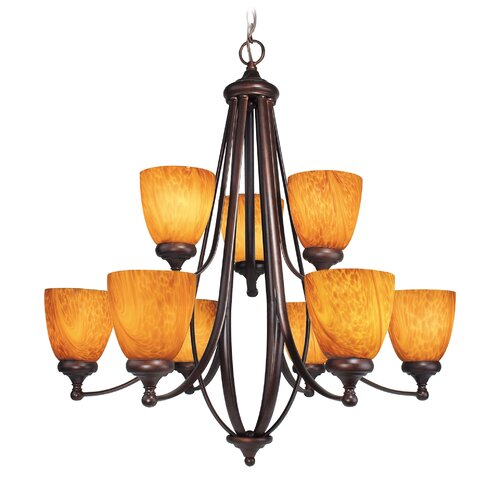 Kenshaw 9 Light Chandelier