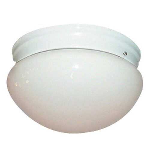 Woodbridge Lighting Basic 2 Light Flush Mount