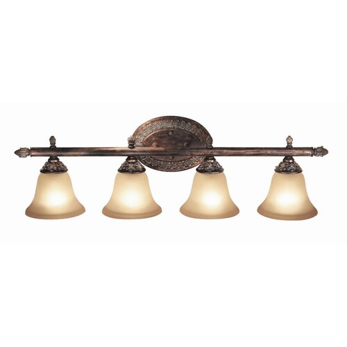 Woodbridge Lighting Worthington 4 Light Bath Vanity Light