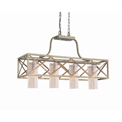 Braid 4 Light Kitchen Pendant Light