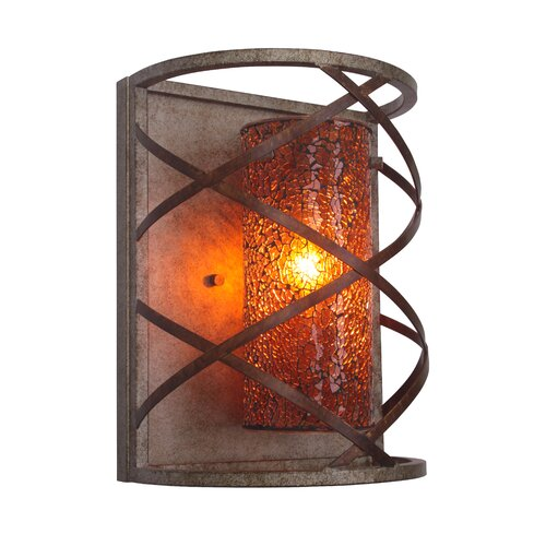 Woodbridge Lighting Braid 1 Light Wall Sconce
