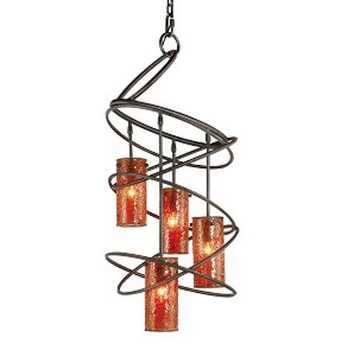 Woodbridge Lighting Loop 4 Light Chandelier