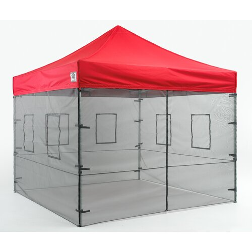 Impact Instant Canopy Food Mesh Wall Kit