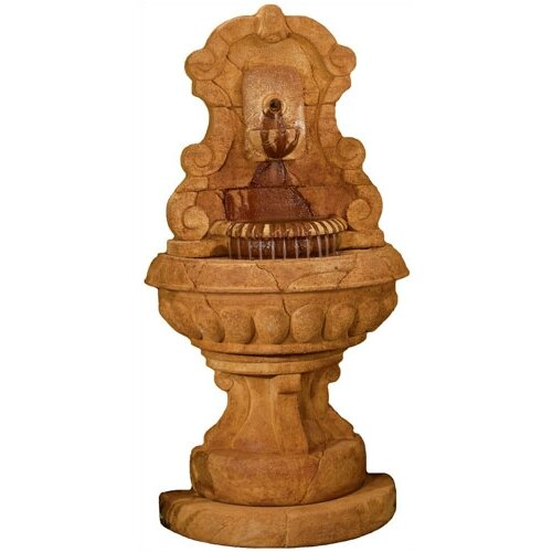 Henri Studio Wall Cast Stone Europe Murabella Lavabo Fountain