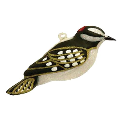 Cobane Studio LLC Downy Woodpecker Ornament