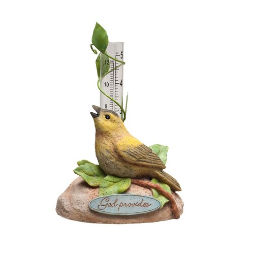 Evergreen Enterprises, Inc God Provides Bird Rain Gauge