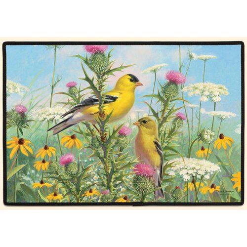 Fiddler's Elbow Goldfinches Doormat