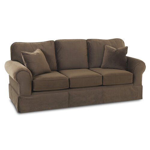 Klaussner Leather Sofa Review: Klaussner Furniture Woodwin Sofa & Reviews