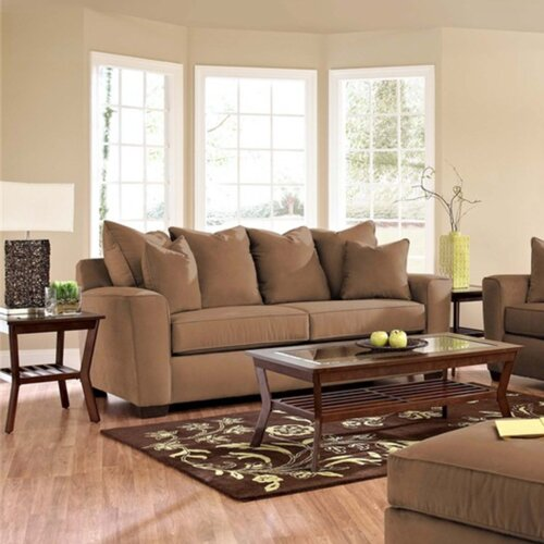 Klaussner Leather Sofa Review: Klaussner Furniture Heather Sofa & Reviews