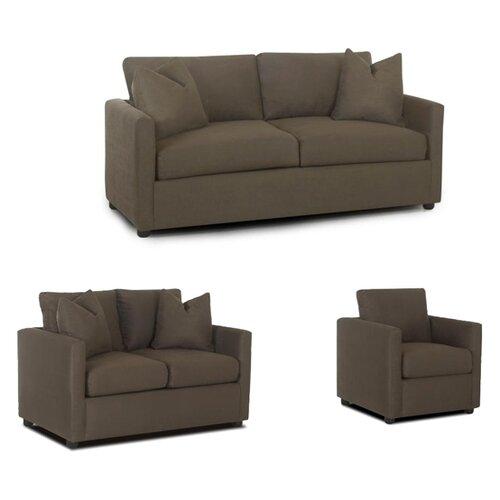 Klaussner Furniture Jacobs Convertible Sofa