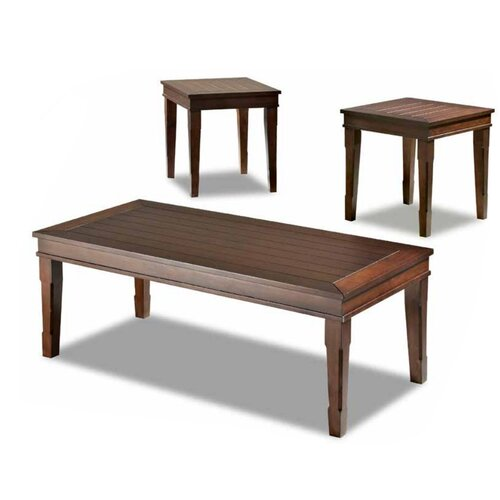Manchester 3 Piece Coffee Table Set Wayfair