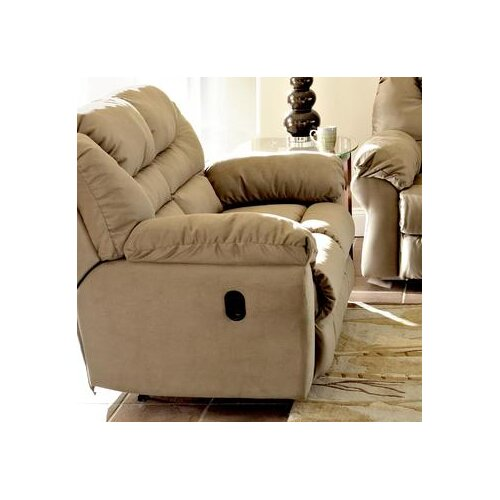 Klaussner Furniture Contempo Reclining Loveseat