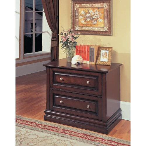 Parker House Furniture Sterling 2-Drawer File Cabinet